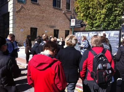 "Molly Robinson tour focuses on ""walkability"""
