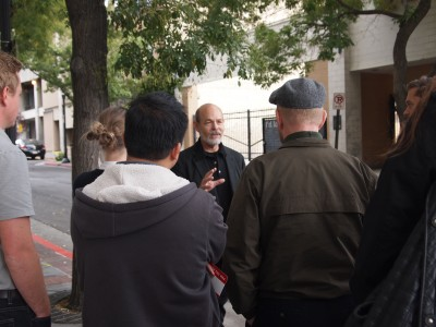 Stephen Goldsmith begins tour on Regent St.
